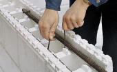 Армирование термоблоки из пенополистирола