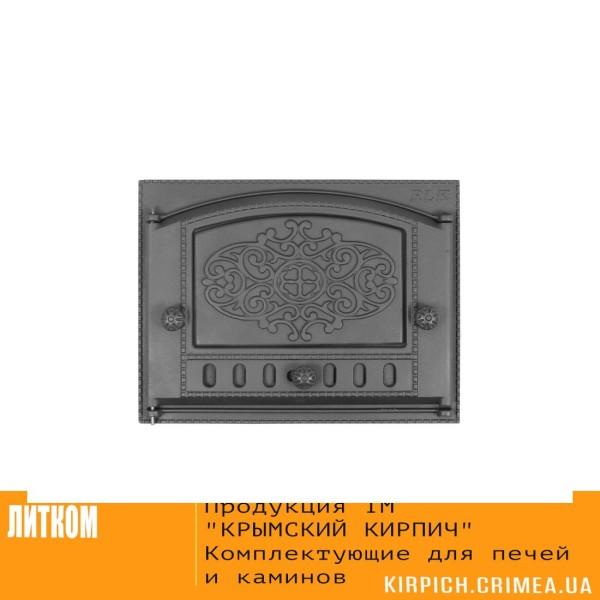 ДК-2Б RLK 315 »Евгений» Дверка каминная крашеная
