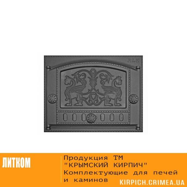 ДК-2Б RLK 325 Дверка каминная крашеная