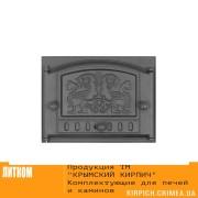 ДК-2Б RLK 325 ''Грифоны'' Дверка каминная крашеная
