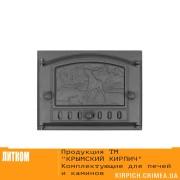 ДК-2Б RLK 335 ''Приволье'' Дверка каминная крашеная