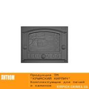 ДК-2Б RLK 345 Дверка каминная крашеная