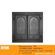 ДК-6 RLK 8314 Дверка каминная двухстворчатая крашеная