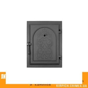 ДКУ-9 RLK 8314 НОВИНКА Дверка каминная уплотненная крашеная
