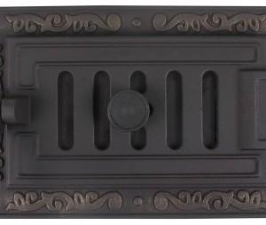ДПГ-2Е Дверка поддув. герметич. Очаг крашеная