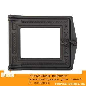 ДТ-3С RLK 517 Дверка топочная без стекла крашеная