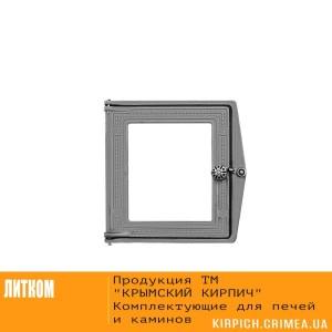 ДТ-4С RLK 517 Дверка топочная без стекла некрашеная