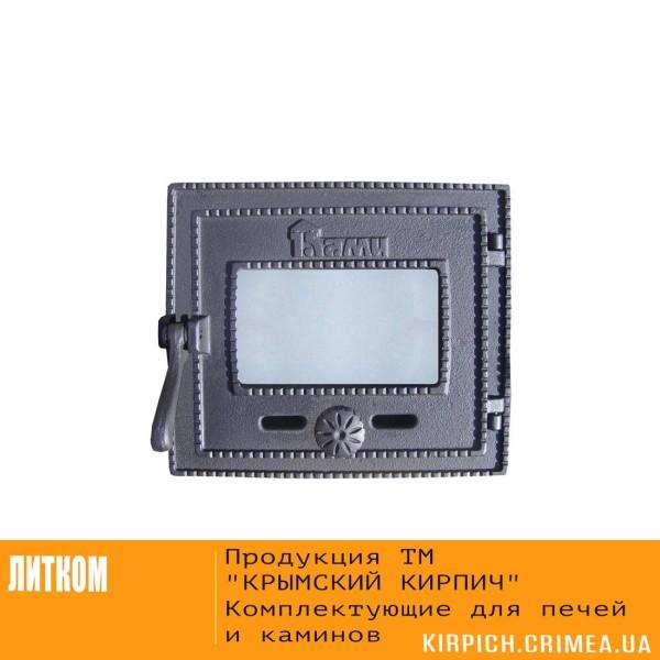 ДТГ-3БС RLK 6310 Дверка топочная герм. Ками краш. со стеклом и спец.креп.