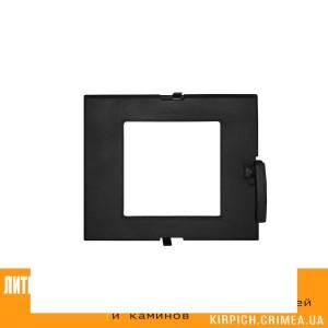 ДТГ-3ВС RLK 7112 Дверка топочная герм. Сельга-2 крашеная без стекла