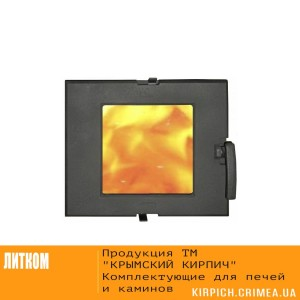ДТГ-3ВС RLK 7112 Дверка топочная герм. Сельга-2 крашеная со стеклом