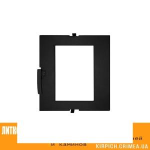 ДТГ-4ВС RLK 7112 Дверка топочная герм. Сельга-2 крашеная без стекла