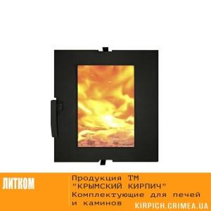ДТГ-4ВС RLK 7112 Дверка топочная герм. Сельга-2 крашеная со стеклом
