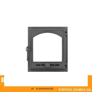 ДТГ-8АС RLK 6210 Дверка топочная герм. Онего крашеная без стекла