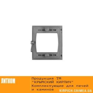 ДТГ-8БС RLK 6110 Дверка топочная герм. Кижи -2 крашеная без стекла