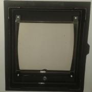 ДТГ-8С RLK 6110 Дверка топочная герм. Кижи крашеная со стеклом (5)