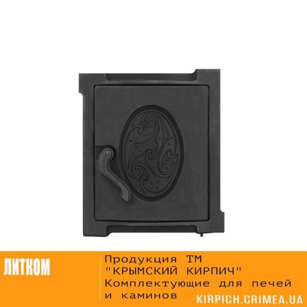 ДТУ-4А RLK 519 Дверка топочная уплотненная крашеная