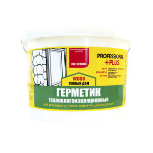 Герметик строительный ТЕПЛЫЙ ДОМ Wood Professional PLUS