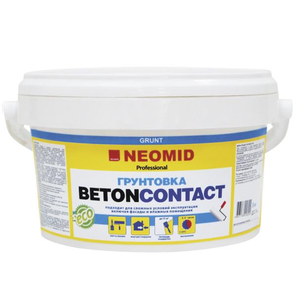 Грунт бетон-контакт NEOMID