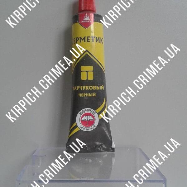 Каучуковый герметик черный