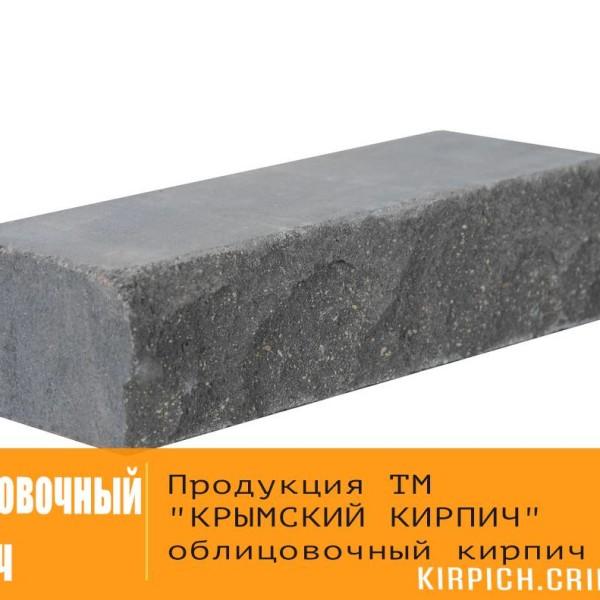 Облицовочный кирпич — Кирпич «Финский» 100 черный