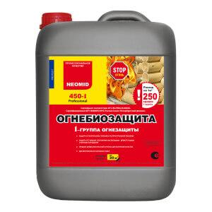 Огнебиозащита NEOMID 450-1 (1 группа огнезащитной эффективности)