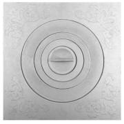 П1-5 (1) Плита с одним отверстием для конфорок под казан от 8 до 10 л. с рисунком