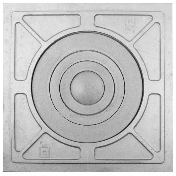 П1-5 (2) Плита с одним отверстием для конфорок под казан от 8 до 10 л. с рисунком
