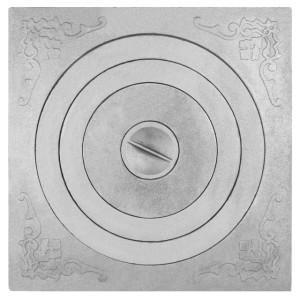 П1-6 (1) Плита с одним отверстием для конфорок под казан. от 12 до 20 л.(пр-во ООО Печной дом г.Барнаул)