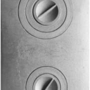 П2-3 Плита цельная с двумя отверстиями для конфорок — копия