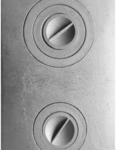 П2-3 Плита цельная с двумя отверстиями для конфорок - копия