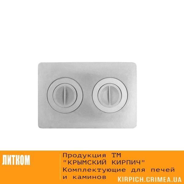 П2-7 Плита с двумя отверстиями для конфорок