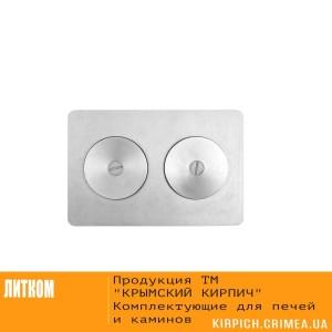 П2-7А Плита с двумя отверстиями для конфорок