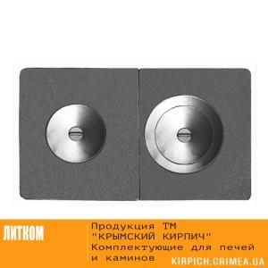 ПС2-3А Плита сборная с двумя отверстиями для конфорок