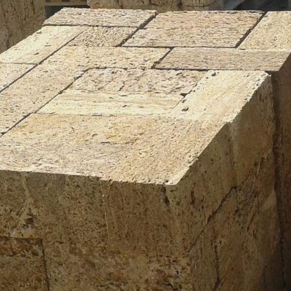 Камень ракушечник — Пиленые блоки из Сакского известняка-ракушечника с доставкой по Крыму
