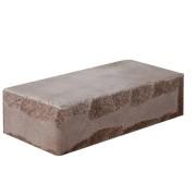 Облицовочный кирпич — Кирпич «Луч» тычкованный шоколад