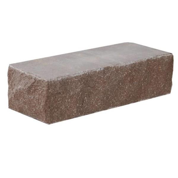 Облицовочный кирпич — Кирпич «Финский» 100 тычковой шоколад