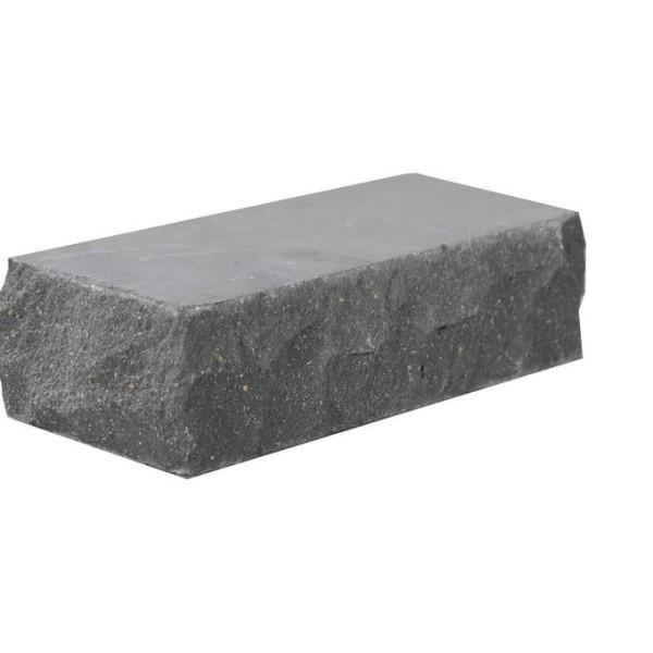 Облицовочный кирпич — Кирпич «Финский» 100 тычковой черный