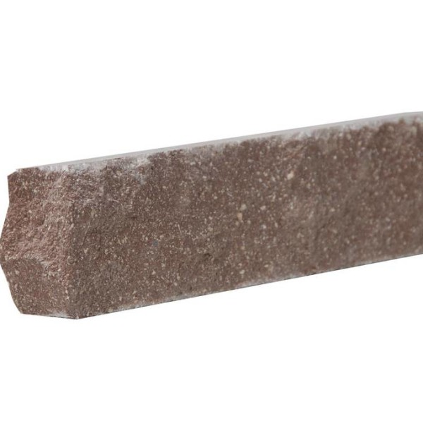 Облицовочный кирпич — Кирпич «Финский» 40 тычковой шоколад